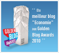 Golden Blog Award 2010 -  Le Blog du Communicant 2.0 - Meilleur blog Economie