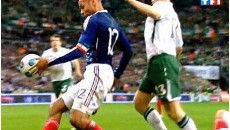 France - Eire - Main de Thierry Henry