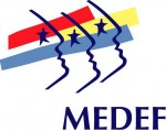MEDEF - Logo corporate communication