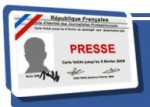 Journalisme - carte de presse communication