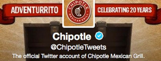 Chipotle - banniere communication