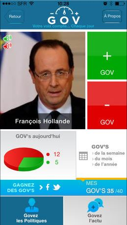GOV - capture Hollande