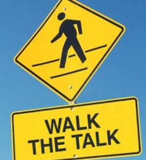Spin doctor - walk the talk