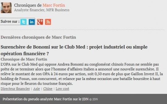 Club Med - Fortin