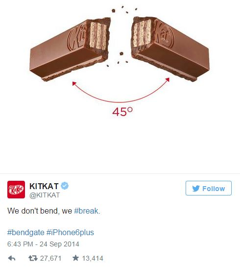 Newsjacking - KitKat