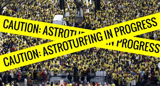Astroturfing 2 - In progress