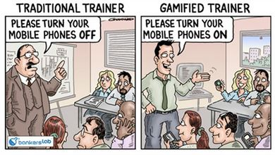 Gamification - cartoon