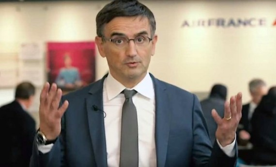 Xavier Broseta, DRH d'Air France