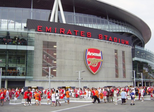 Naming - Arsenal-Emirates-Stadium