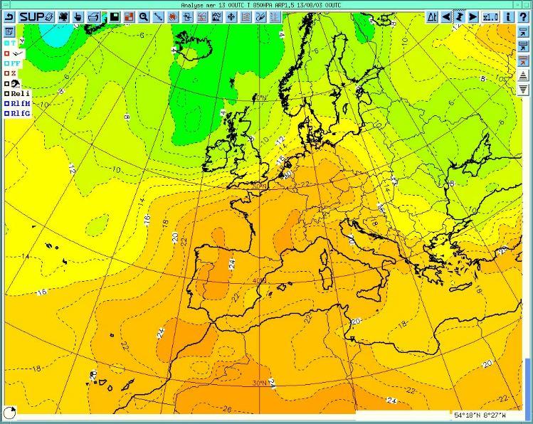 A - Carte météo France canicule 2003 › Le blog du Communicant