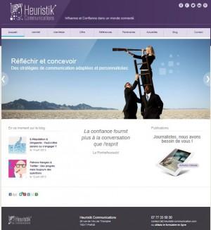 Le blog est l'oeuvre d'Heuristik Communications que j'ai créé en mars 2013