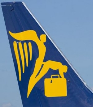 Logo de Ryanair détourné par des internautes sur une page Facebook