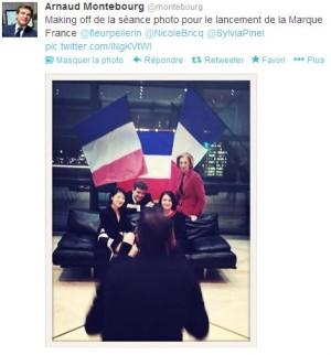 A. Montebourg avait pourtant tweeté le lancement du projet