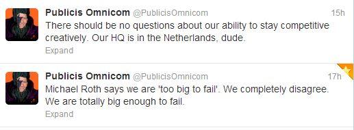Publicis - Tweets communication