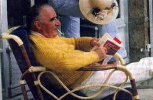 Georges Pompidou est le premier à mettre en scène ses vacances