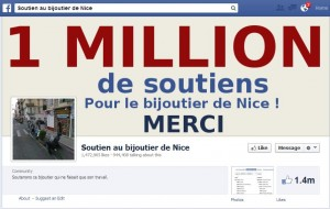 1 million de likes collectés en quelques jours !