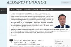 Justice - Web site Djouhri