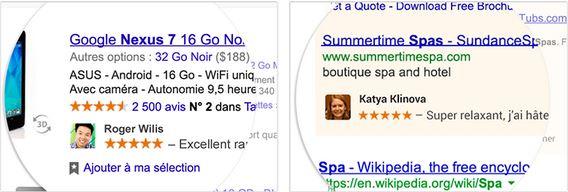 Un clic et vous voilà associé à une pub sur Google !