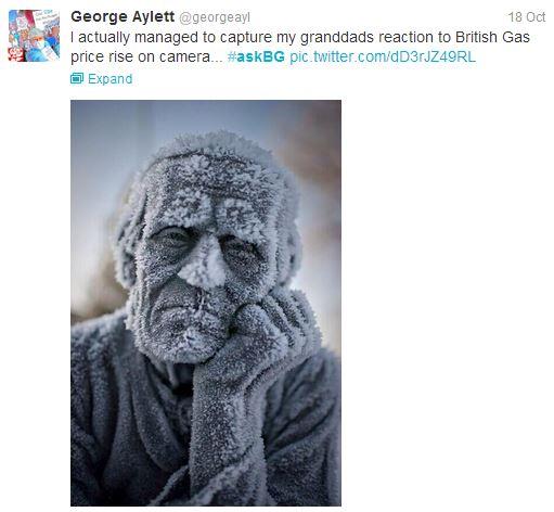 L'humour anglais en pleine forme cinglante envers British Gas !