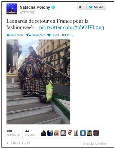 Le fameux tweet prestement retiré par Natacha Polony
