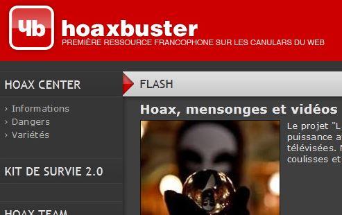 Hoaxbuster, un bon antidote à la rumeur