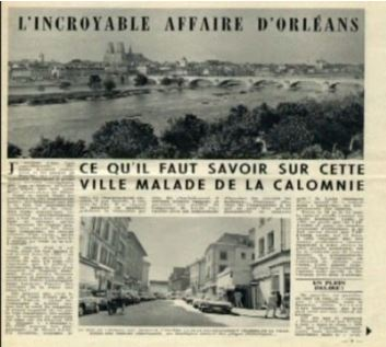 Apparue dans les années 60, la rumeur d'Orléans circule encore çà et là