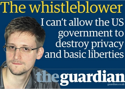 Edward Snowden, le plus fameux des lanceurs d'alerte