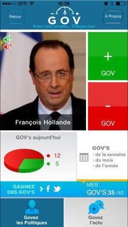 GOV - capture Hollande