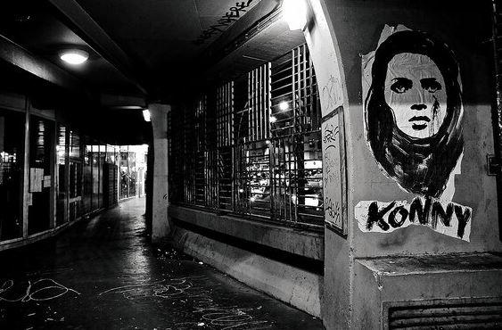Tag parisien capturé le 16 janvier par Nikos Aliagas et diffusé sur les réseaux sociaux