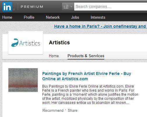 Artistics - Linkedin