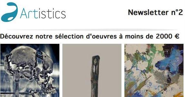 Artistics - newsletter