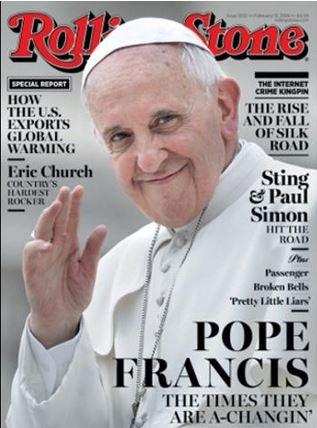 Pape Francois - Rolling Stones