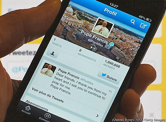 Pape Francois - twitter