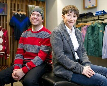 Philip Oldham, le nouveau CEO repéré sur Twitter par Sue Watson, propriétaire de Lyle & Scott