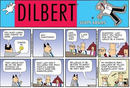 Com interne - Dilbert