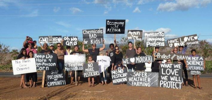 Monsanto - Manifestants