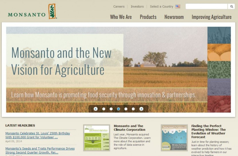 Monsanto - Website
