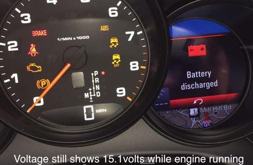 Porsche - capture défauts