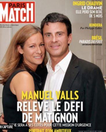 Valls - couverture paris match