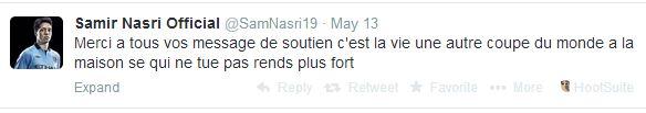 FFF - Tweet Nasri
