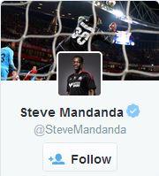 FFF - Twitter - Steve Mandanda