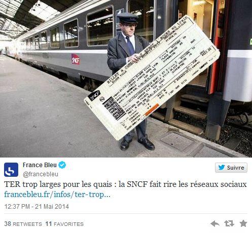 SNCF RFF - Controleur gros ticket