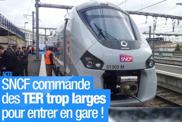 SNCF RFF - gros titre journal