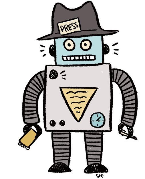 Algo - Dessin robot journalist