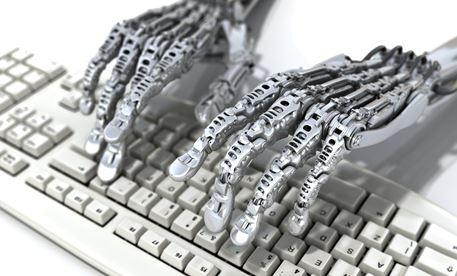 Algo - mains robots clavier
