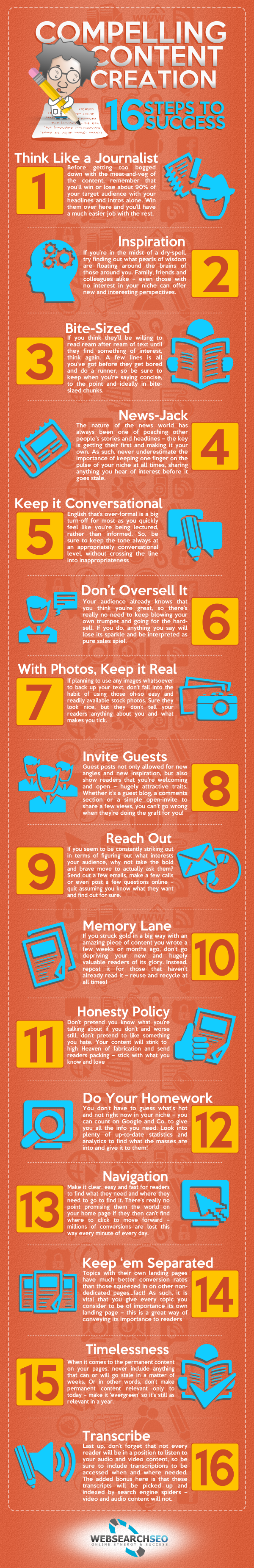 Infographie 140 - How to create Compelling-Content