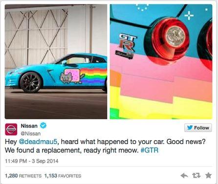 Deadmau5 - Tweet NISSAN