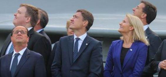 La photo qui buzze au sommet de l'OTAN