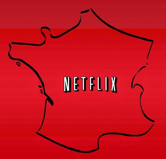 Netflix - Carte France