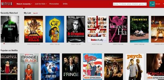 Netflix - Catalogue